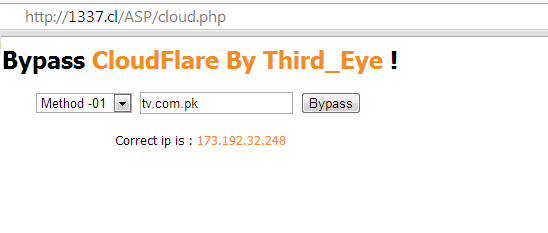 Cloudflare Bypass Security